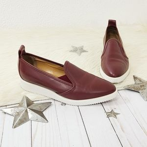 Everlane the Leather Street Shoe oxblood red sz 8
